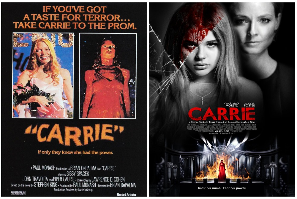 carrie vhs covers