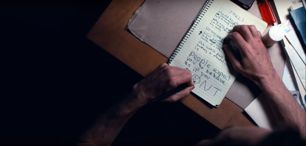 joker writing